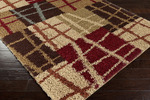 Surya Rosario RSO-4608 Putty/Venetian Red/Brown Closeout Area Rug - Fall 2014