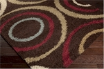 Surya Rosario RSO-4609 Brown/Putty/Venetian Red Closeout Area Rug - Fall 2014