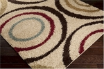 Surya Rosario RSO-4610 Putty/Brown/Venetian Red Closeout Area Rug - Fall 2014