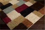 Surya Rosario RSO-4611 Putty/Sage Green/Venetian Red Closeout Area Rug - Fall 2014