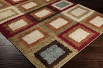 Surya Rosario RSO-4612 Sage Green/Pecan/Putty Closeout Area Rug - Fall 2014