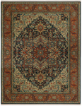 Karastan Sovereign 00990-14601 Maharajah Navy Area Rug