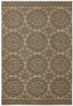 Karastan Pacifica 90490-80178 Leawood Tan Closeout Area Rug