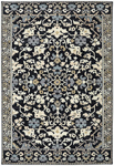 Karastan Pacifica 90638-90083 Bridgeport Black Closeout Area Rug