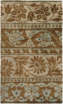 Surya Scarborough SCR-5110 Mushroom/Brown Closeout Area Rug - Spring 2012