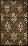Surya Scarborough SCR-5112 Mushroom/Red Closeout Area Rug - Spring 2012