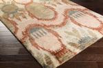 Surya Scarborough SCR-5150 Taupe/Olive/Salmon Closeout Area Rug
