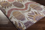 Surya Scarborough SCR-5152 Taupe/Violet/Chocolate Closeout Area Rug