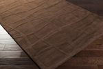 Surya Candice Olson Sculpture SCU-7500 Chocolate Brown Closeout Area Rug - Fall 2014