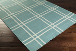 Surya Angelo Surmelis Sheffield Market SFM-8004 Teal Green/Pale Blue Closeout Area Rug - Fall 2014