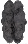 Surya Sheepskin SHS-9602 Light Grey Area Rug