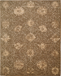 Nourison Silken Allure SLK08 Chocolate Area Rug