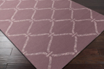 Surya Stallman SLM-1002 Mauve/Light Grey Area Rug