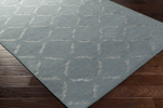 Surya Stallman SLM-1011 Slate/Light Grey Area Rug