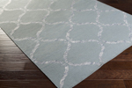 Surya Stallman SLM-1035 Slate/Light Grey Area Rug