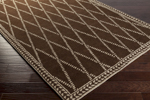 Surya Stampede SMP-6003 Chocolate/Taupe Closeout Area Rug - Fall 2015