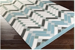 Surya Savannah SNH-8000 Teal/Ivory/Forest/Moss/Light Grey Closeout Area Rug