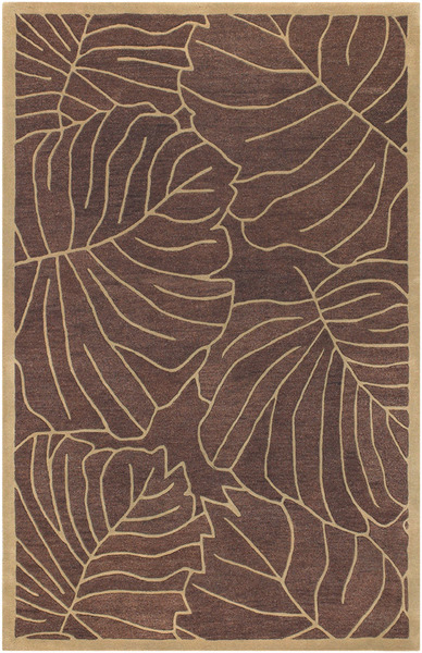 SR-148 Rust Brown Closeout Area Rug