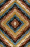Surya Dick Idol Sante Fe STF-4010 Gold/Sky Closeout Area Rug - Fall 2011