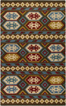 Surya Dick Idol Sante Fe STF-4011 Burgundy/Ivory Closeout Area Rug - Fall 2011