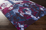 Surya Swank SWA-1005 Navy/Plum/Violet Closeout Area Rug - Spring 2015
