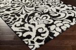 Surya Swift SWT-4000 Black/Ivory Closeout Area Rug
