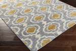 Surya Swift SWT-4005 Light Grey/Gold/Ivory Closeout Area Rug