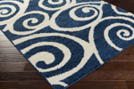 Surya Swift SWT-4008 Cobalt/Ivory Closeout Area Rug