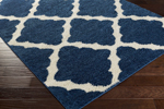 Surya Swift SWT-4014 Cobalt/Ivory Closeout Area Rug