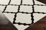 Surya Swift SWT-4015 Ivory/Black Closeout Area Rug