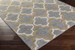 Surya Swift SWT-4017 Light Grey/Gold/Ivory Closeout Area Rug