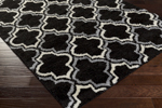 Surya Swift SWT-4018 Black/Light Grey/Ivory Closeout Area Rug