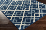 Surya Swift SWT-4020 Cobalt/Slate/Ivory Closeout Area Rug