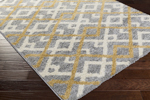 Surya Swift SWT-4022 Light Grey/Gold/Ivory Closeout Area Rug