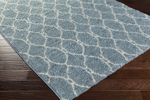 Surya Swift SWT-4025 Slate/Light Grey Closeout Area Rug
