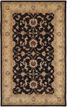 HRI Winchester TH-204 Black/Beige Closeout Area Rug