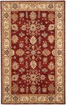HRI Winchester TH-31 Burgundy/Beige Closeout Area Rug