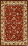 HRI Winchester TH-601 Rust/Ivory Closeout Area Rug