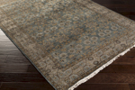 Surya Theodora THO-3002 Teal/Butter/Charcoal/Light Grey Area Rug