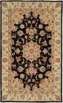 HRI Winchester TM-1502A Black/Camel Closeout Area Rug