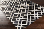 Surya Trail TRL-1130 Black/Ivory Area Rug