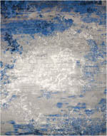 Nourison Twilight TWI22 BLUE/GREY Area Rug