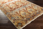 Surya Uncharted UND-2005 Coral/Rust/Slate/Grey/Ivory Area Rug