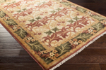 Surya Uncharted UND-2007 Beige/Olive/Burgundy/Black Area Rug