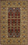 Surya Universal UNI-1005 Red/Gold Closeout Area Rug - Fall 2012