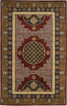Surya Universal UNI-1011 Dark Red/Amber Closeout Area Rug - Fall 2012