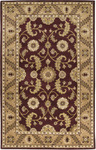 Surya Universal UNI-1015 Burgundy/Gold Closeout Area Rug - Fall 2012