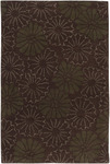 Surya Universal UNI-1021 Dark Brown/Forest Closeout Area Rug - Fall 2012