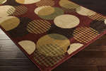 Surya Ventura VNT-7000 Burgundy/Beige/Gold Closeout Area Rug - Fall 2014