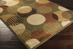 Surya Ventura VNT-7003 Olive/Beige/Sienna Closeout Area Rug - Fall 2014